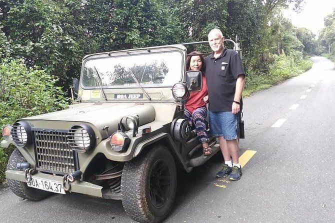 Guided Tour to Visit Marble Mountain,Lady Buddha Statue& Monkey Mountain by Jeep