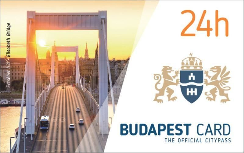 The Official City Card of Budapest: 24h