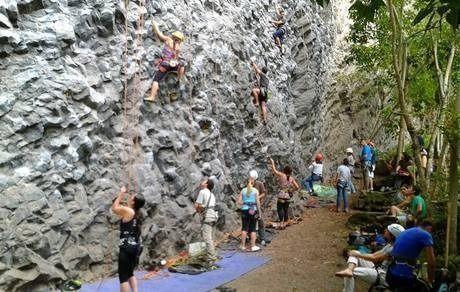 Climbing and Nature