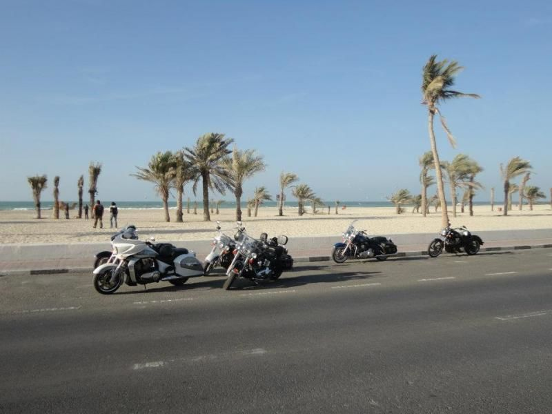 Harley Davidson tour through the Arabian Emirates