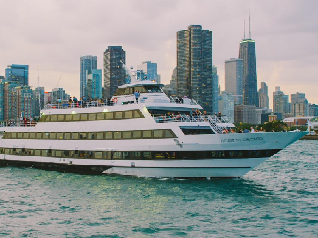 Spirit of Chicago Sunset Buffet Dinner Cruise on Lake Michigan