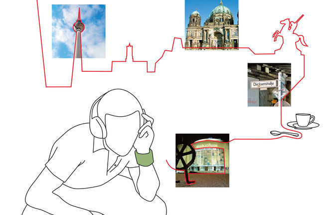Audiotour 'Mitte-Schritte' - The historical centre of Berlin
