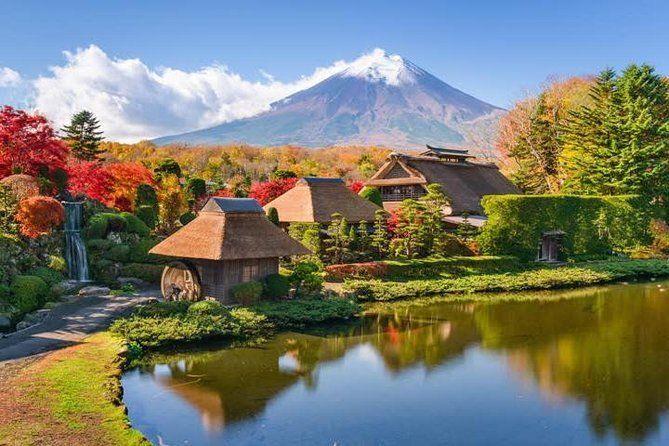 1-Day Mt. Fuji, Lake Kawaguchi, Oshino Hakkai Charter Tour from Tokyo/Yokohama