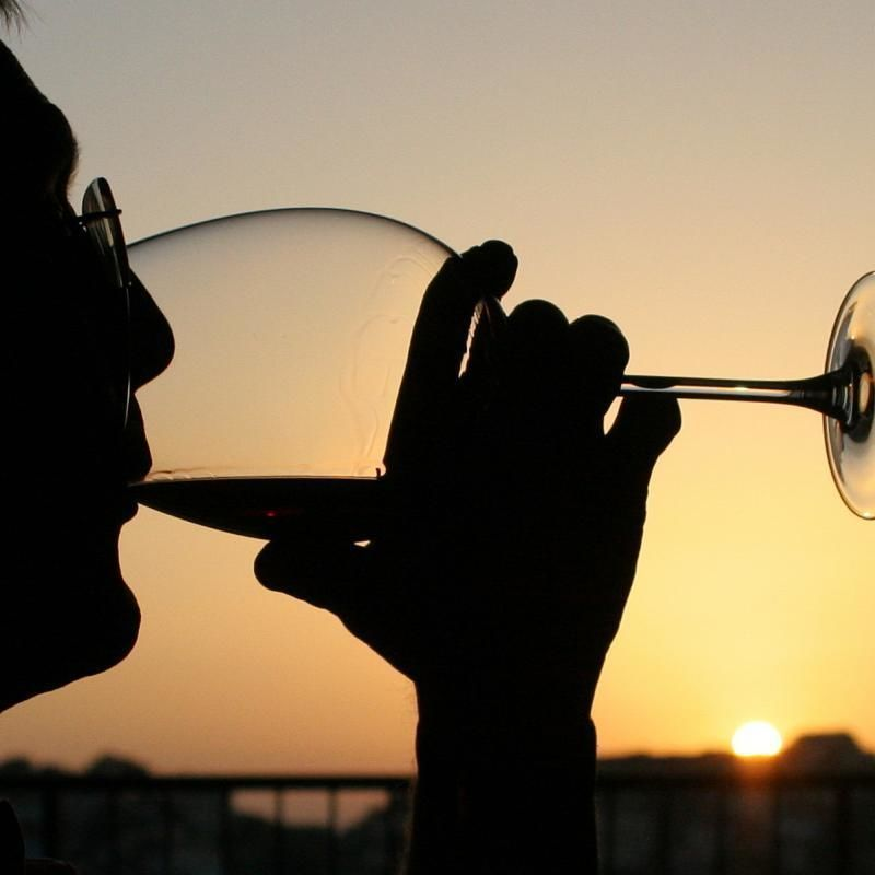 Florence city tour - wine tasting at sunset