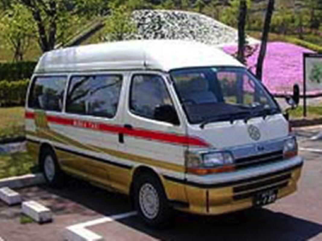 Private Jumbo Taxi Tour to Esashi Fujiwara no Sato from Hanamaki