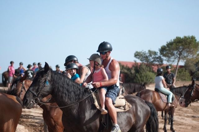 Excursion to Rancho Grande: horseback riding, barbecue and cowboy dance