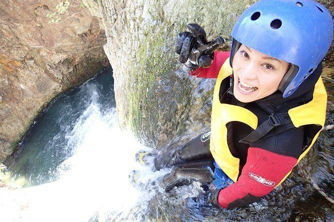 Minakami Half-Day Canyoning Trip in Fox Canyon