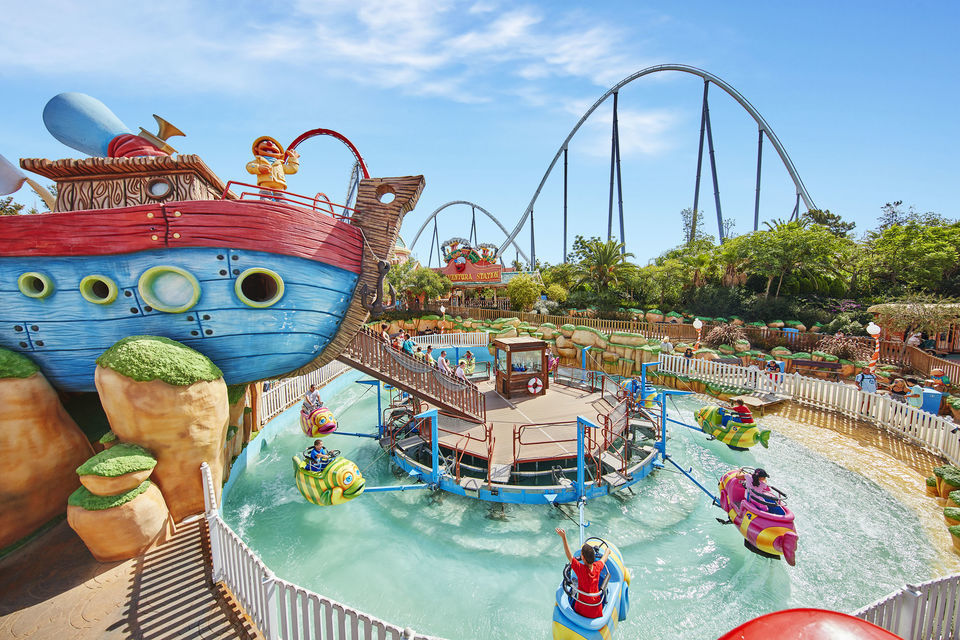 PortAventura Theme Park Tickets: 1, 2, or 3-Day Entry