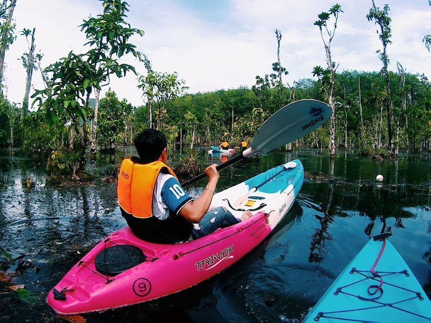 Krabi: Khlong Nam Sai Lagoon with Kayaking