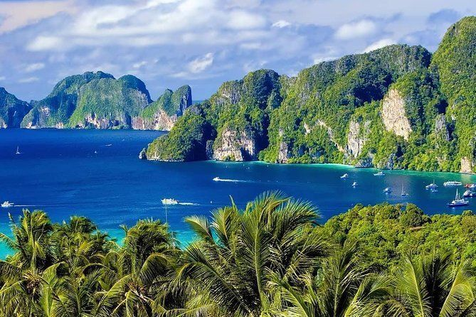 Full-Day Phi Phi & Rang Islands Snorkeling Trip w/ Seaview Lunch by Speedboat