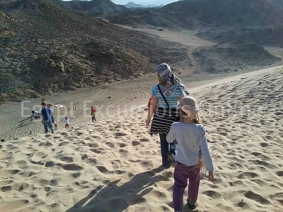 Jeep safari trip to the Sahara Park Hurghada