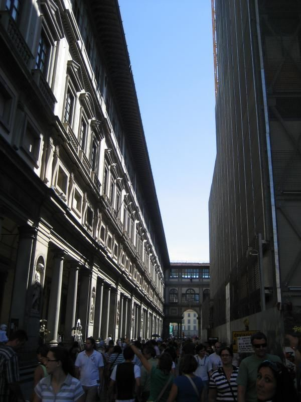 Private guided tour through the Uffizi