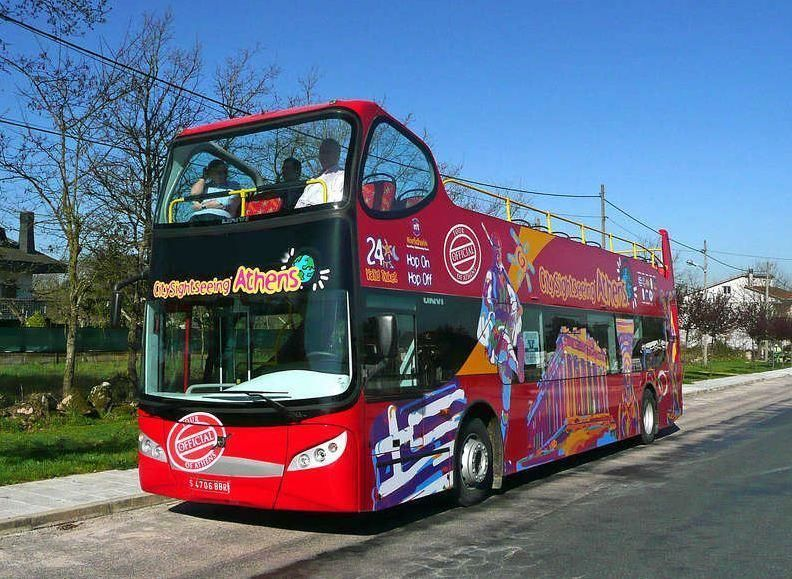 Hop-on/ Hop-off City Tour Athens and Piraeus - 24h-Ticket + 1 day free