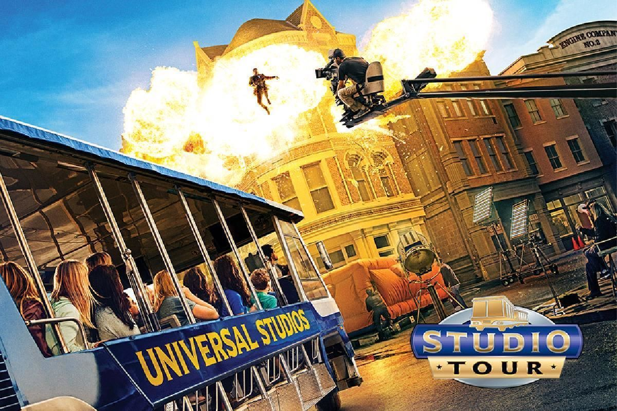 Universal Studios & Movie Stars' Homes Tour Combo