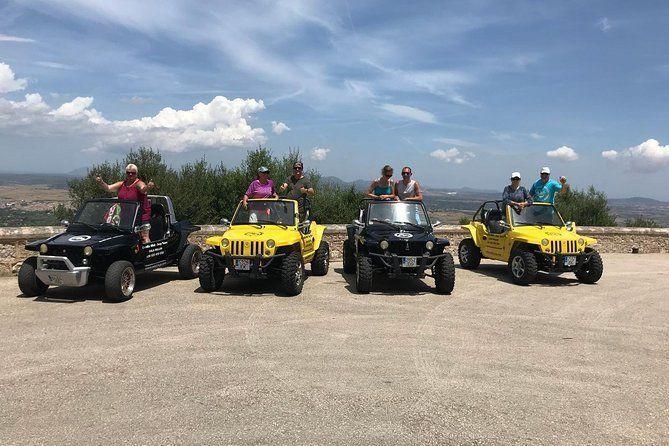 Quad'ix Mini Jeep Mountains and Sea Tour Cala Millor Mallorca (6-7 hours)
