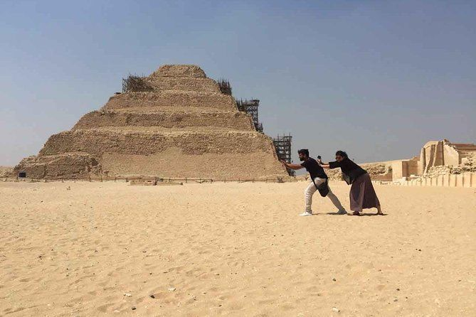 Private Day tour to Pyramids Saqqara Dahshur from Port Said