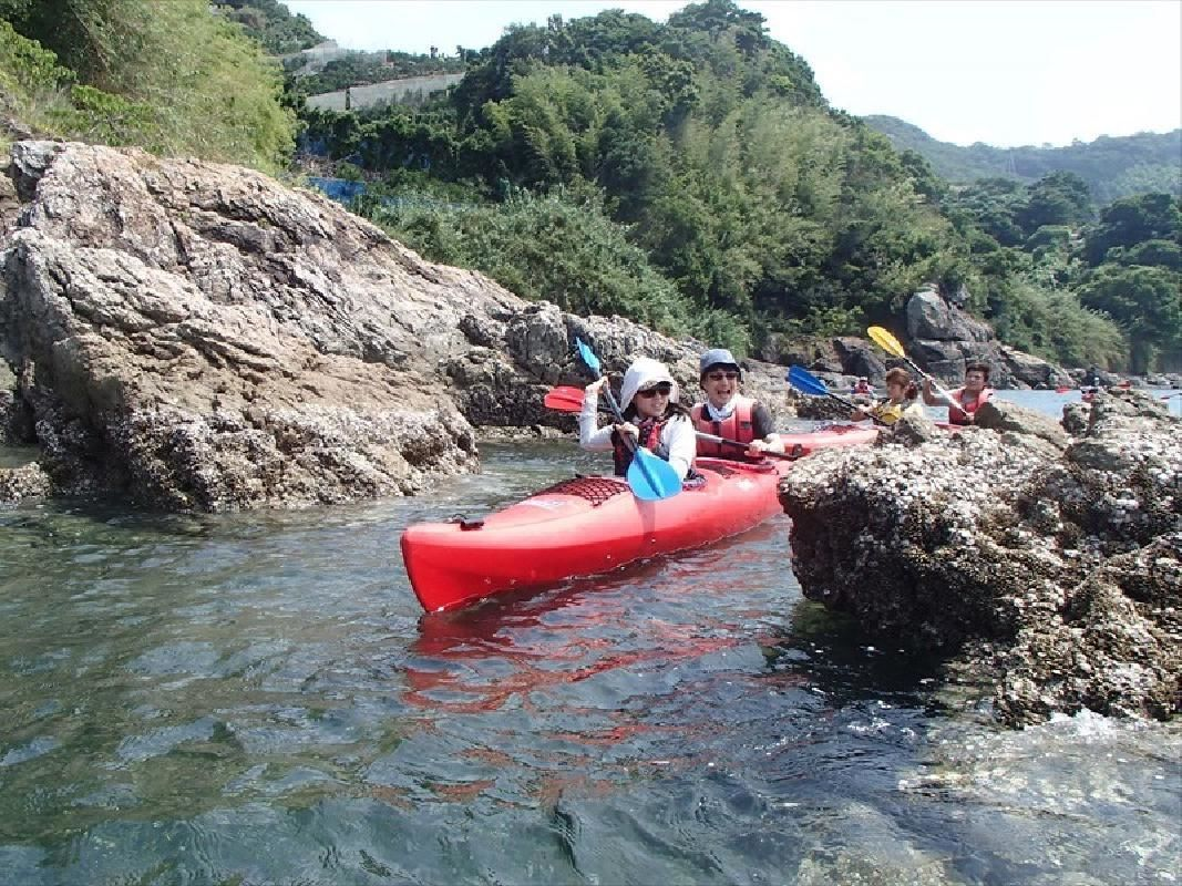 Half Day Sea Kayak Tour for All Ages from Yuasa