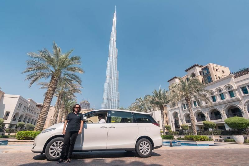 Private city tour Dubai with Burj Khalifa ticket (124th floor)