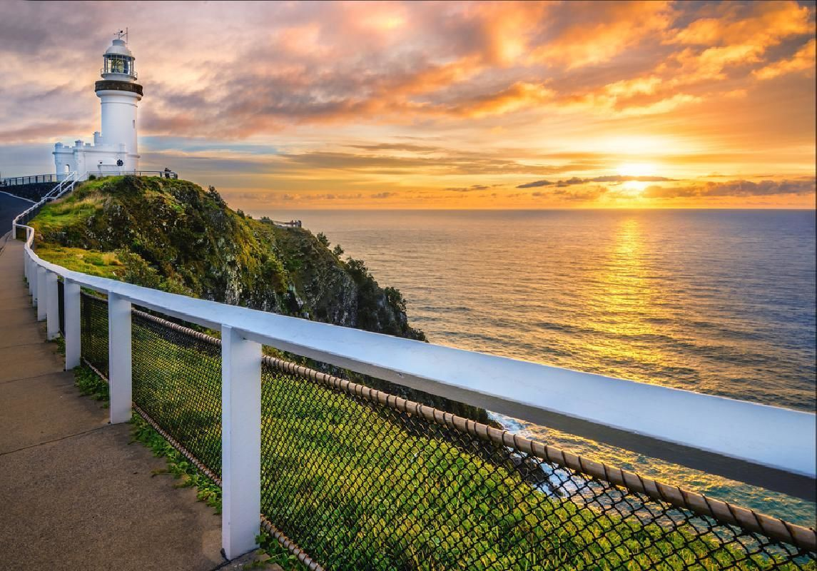 Byron Bay Highlights Tour from Gold Coast with Optional Crystal Castle Visit