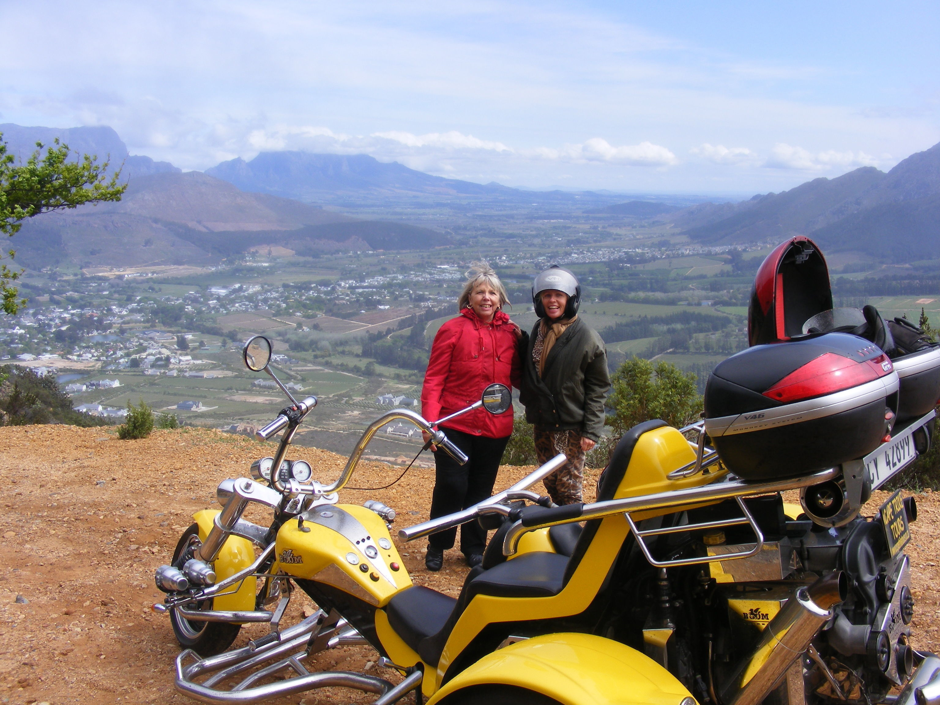 Cape Winelands (4 passes) by trike