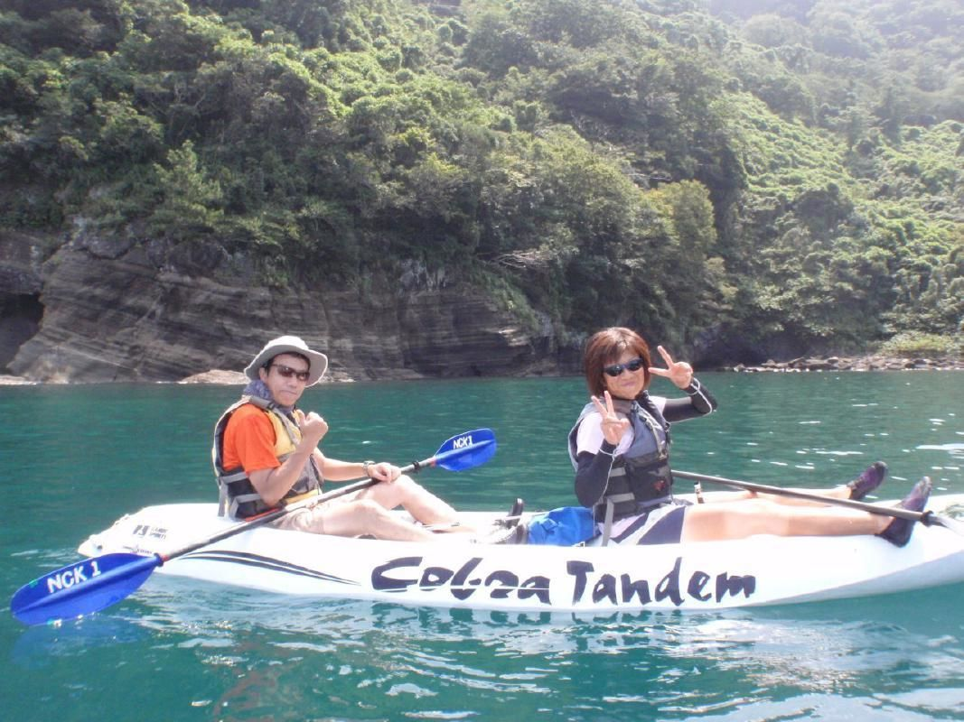 Full Day and Nighttime Sea Kayaking Tours in Nishi Izu