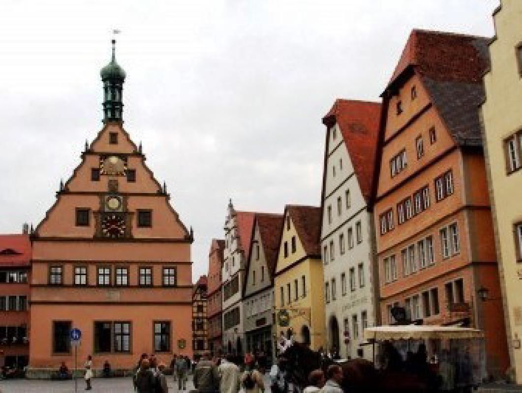Munich to Rothenburg Romantic Road Intercity Coach Transfer Ticket