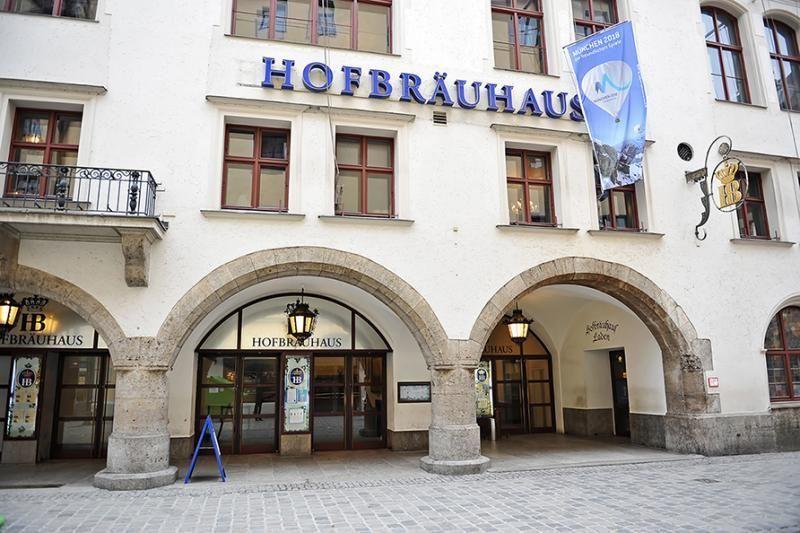 Walking tour Munich: There's a Hofbrauhaus in Munich