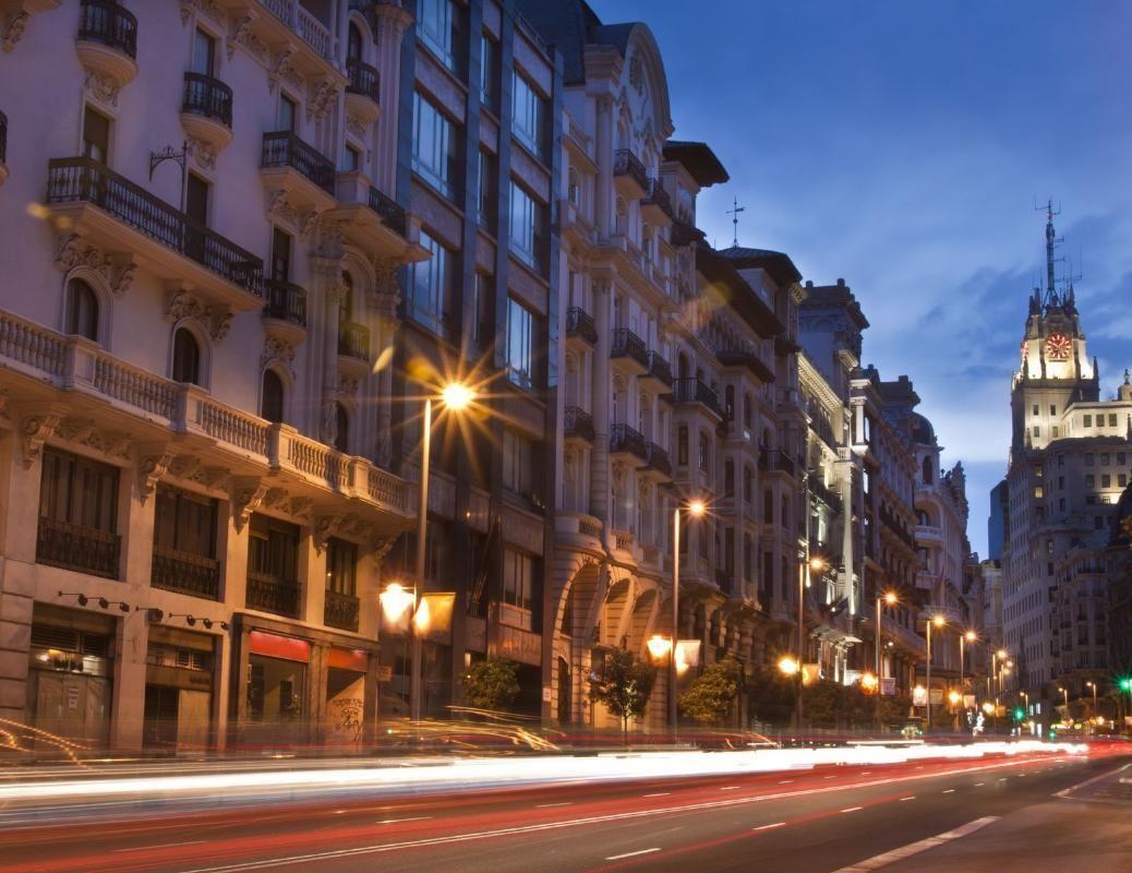 Madrid Night Walking Tour including Gran Via and Plaza Mayor