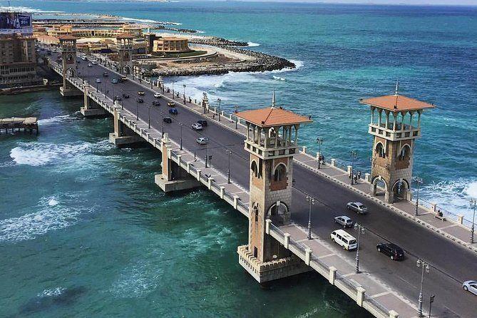 Alexandria City Tour Including Qaitbay Citadel, Pompay's Pillar and The Library