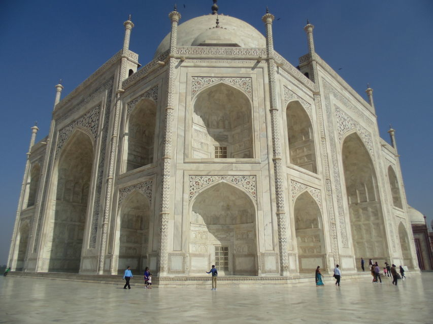 Day Trip to Agra from Delhi: Taj Mahal and Agra Fort