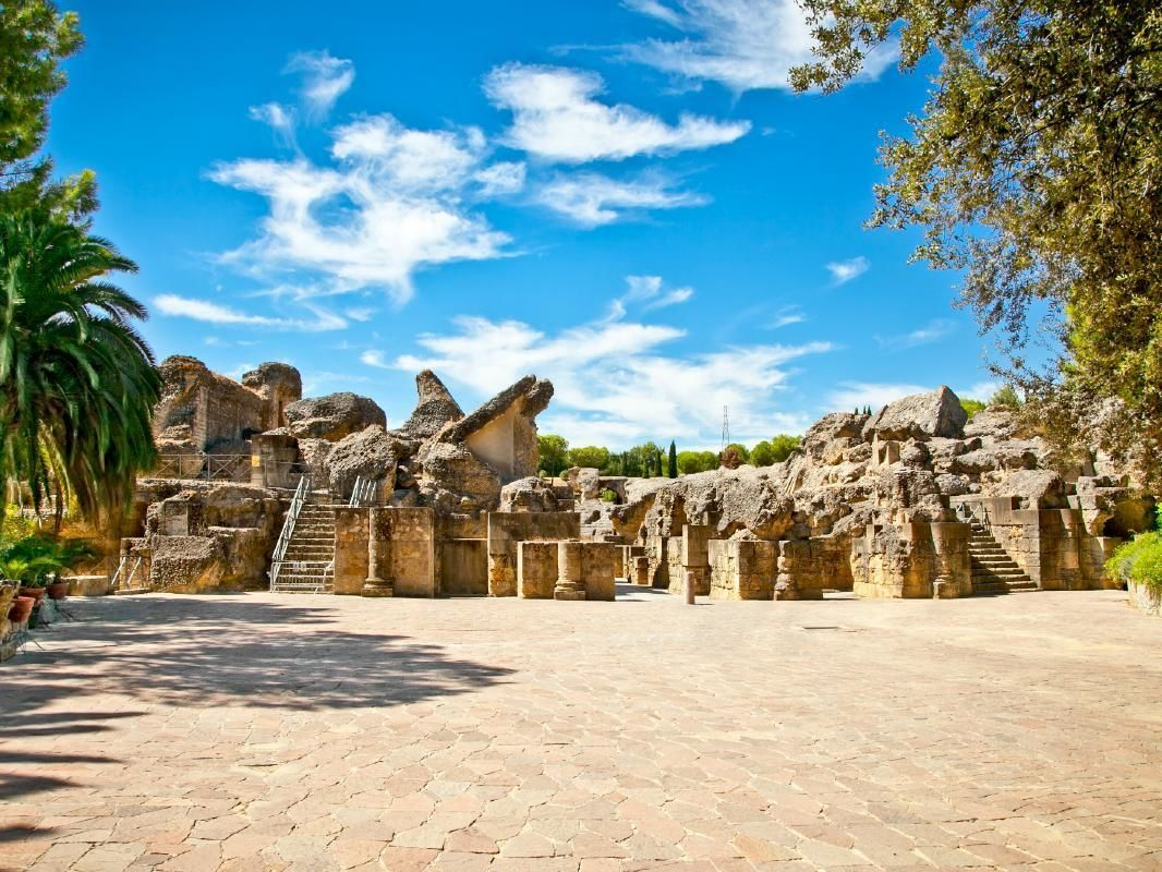 Italica City of Rome Full Day Tour from Seville