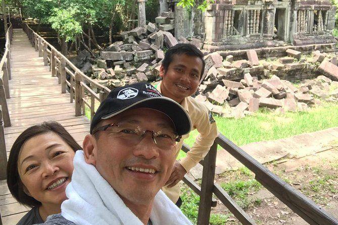 Jungle Temple Of Beng Mealea