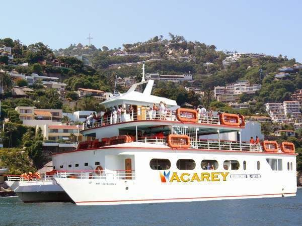 Acapulco: Afternoon Boat Cruise