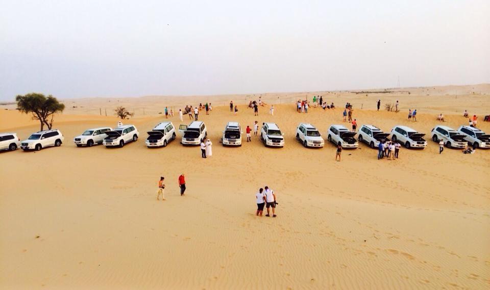 From Abu Dhabi Cruise Terminal: Desert Safari