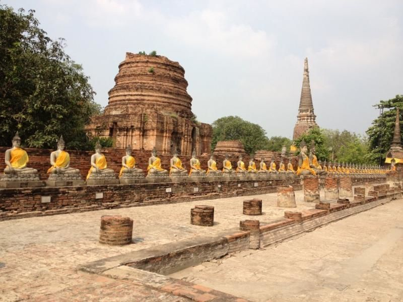 Full-day tour from Bangkok - The temple complexes of Ayutthaya