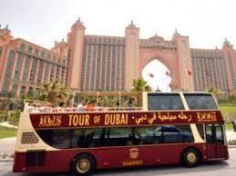 Dubai Burj Khalifa Entrance & Hop-on Hop-off Bus Tour