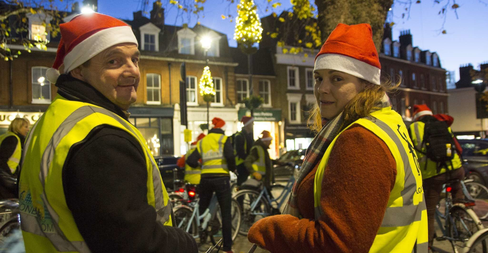 London Christmas Lights Bike Tour