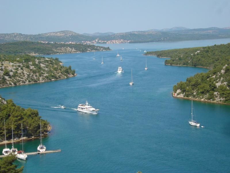 Private trip to Sibenik and Krka waterfalls