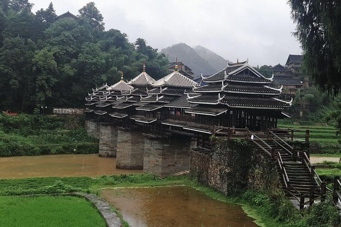 Private Transfer from Guilin to Zhaoxing and stops at Chengyang Dong Village