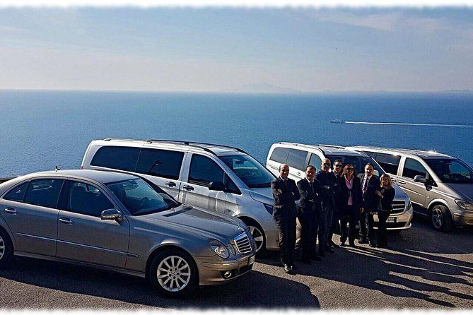 Private Transfer with driver from Rome to Sorrento & Amalfi Coast