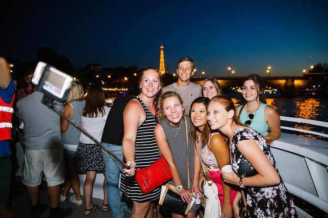 Paris by Night City of Lights Sightseeing Guided Bike Tour