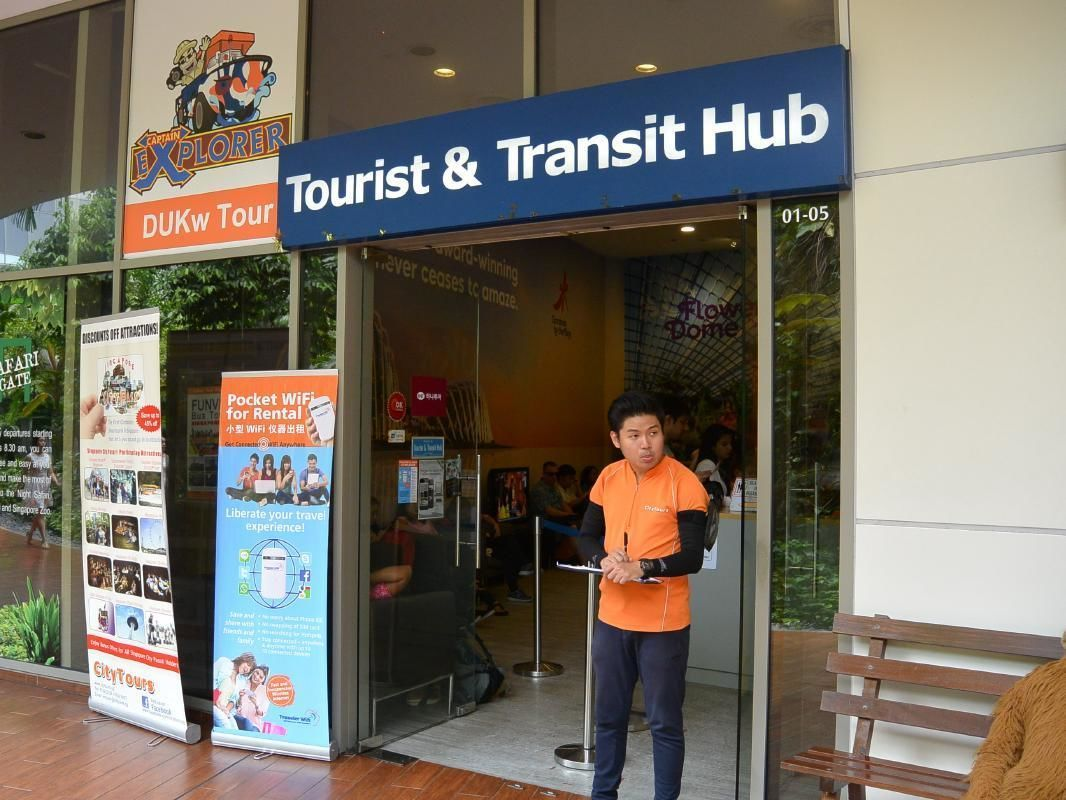 Singapore 1-Day Hop On Hop Off Sightseeing Bus Tour