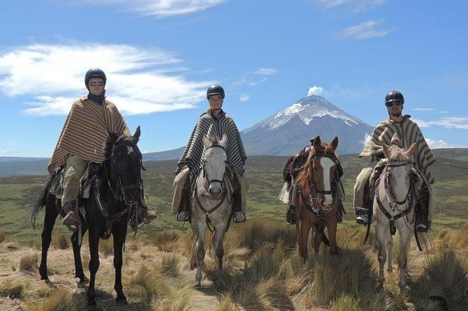 Horseback Riding and Cotopaxi National Park Private Tour