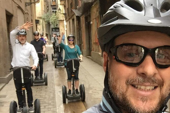 PRIVATE Live-Guided Barcelona 3-hour Segway Tour