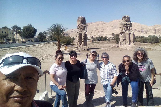 Amazing Full Day Luxor East and West Bank Guided Tour with Lunch