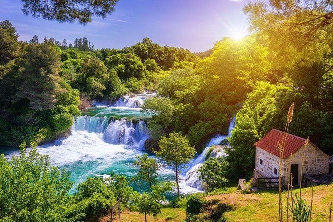 Private day trip to Krka waterfalls ( with river cruise ) from Sibenik