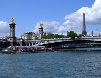 City tour Paris and boat trip on the Seine