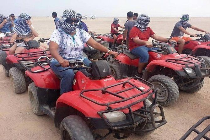Hurghada Sunset and Quad Bike Desert Safari Trip
