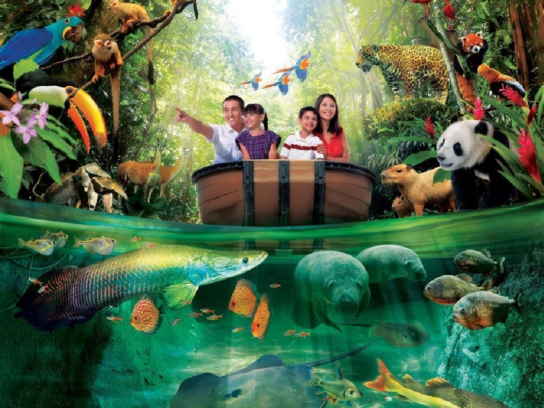 River Safari Tickets with Round Trip Shuttle Transfers