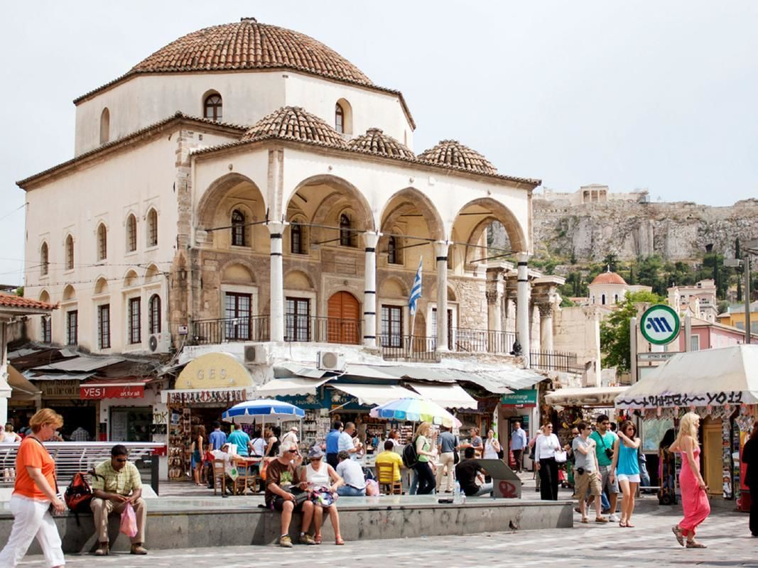 Ancient Athens, Markets and Ruins Small Group Morning Tour